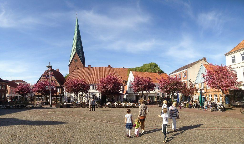 Brauhaus Eutin auf dem Marktplatz in Eutin