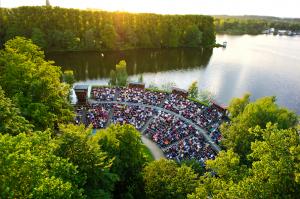 Luftbild Eutiner Festspiele